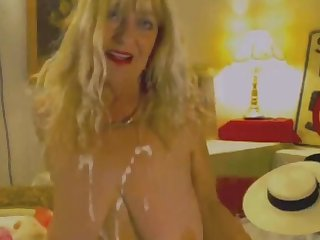Busty Granny Has Hot Riding And Fucking Skills