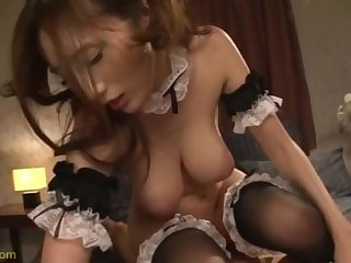 MIDE-218 Julia is a japanese maid