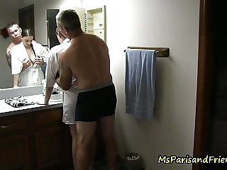 Daddy FUCKS Everybody in the BATHROOM