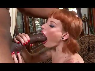 Hot redhead chelsea gets a deep hard pounding