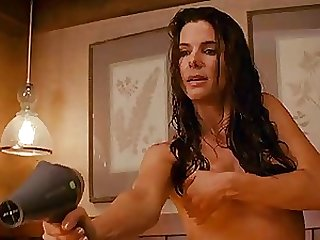 Super Hot Sandra Bullock Grabbing Her Juicy Jugs