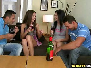 Samantha Rise And A Friend Getting Nailed